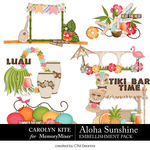 Aloha Sunshine Clusters Pack-$3.99 (Carolyn Kite)