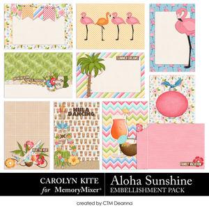 Alohasunshine cards medium