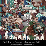 Autumn Chill Combo Pack-$4.99 (Ooh La La Scraps)