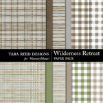 Wilderness Retreat Paper Pack-$3.99 (Tara Reed Designs)