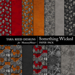 Something Wicked Paper Pack-$3.99 (Tara Reed Designs)