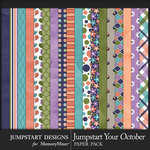 Jumpstart Your October 2017 Paper Pack-$3.99 (Jumpstart Designs)