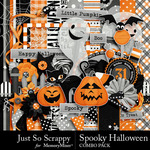 Spooky Halloween JSS Combo Pack-$4.99 (Just So Scrappy)