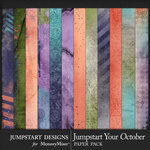 Jumpstart Your October 2017 Blended Papers-$3.99 (Jumpstart Designs)