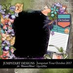 Jumpstart Your October 2017 QuickMix-$4.99 (Jumpstart Designs)