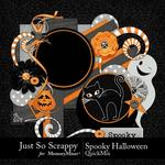 Spooky Halloween JSS QuickMix-$4.99 (Just So Scrappy)