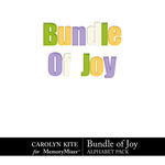 Bundle of Joy Alphabet Pack-$2.99 (Carolyn Kite)