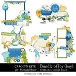 Bundle of Joy Boy Cluster Pack-$3.99 (Carolyn Kite)