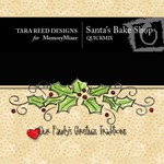 Santas Bake Shop QuickMix-$4.49 (Tara Reed Designs)