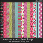 Sweet Escape JSD Patterned Paper Pack-$3.99 (Jumpstart Designs)