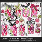 Sweet Escape JSD Pretty Bits Pack-$3.99 (Jumpstart Designs)