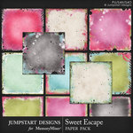 Sweet Escape JSD Blended Paper Pack-$3.99 (Jumpstart Designs)