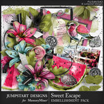 Sweet Escape JSD Embellishment Pack-$4.99 (Jumpstart Designs)