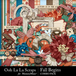 Fall Begins Combo Pack-$4.99 (Ooh La La Scraps)