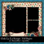 Fall Begins QuickMix-$4.99 (Ooh La La Scraps)