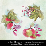 Awesome Autumn Accents Pack-$2.99 (Indigo Designs)