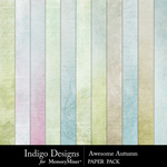 Awesome Autumn Paper Pack-$3.49 (Indigo Designs)