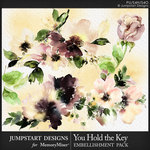You Hold the Key WC Blooms Pack-$3.49 (Jumpstart Designs)