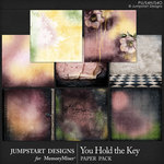 You Hold the Key Artsy Papers-$3.49 (Jumpstart Designs)