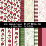 Peony Romance Papers-$3.99 (Tara Reed Designs)