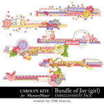 Bundle of Joy Girl Edges Pack-$3.99 (Carolyn Kite)
