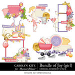 Bundle of Joy Girl Cluster Pack-$3.99 (Carolyn Kite)