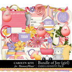 Bundle of Joy Girl Embellishment Pack-$4.99 (Carolyn Kite)