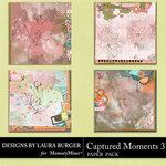 Captured Moments 3 Stacked Papers-$5.99 (Laura Burger)