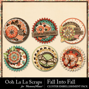 Fall into fall cluster seals medium