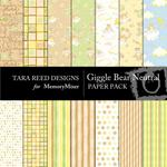 Giggle Bear Neutral Paper Pack-$4.00 (Tara Reed Designs)