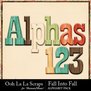 Fall into fall alphabets medium
