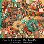 Fall Into Fall Combo Pack-$4.99 (Ooh La La Scraps)
