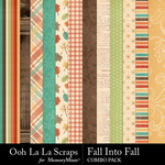 Fall into fall kit papers small