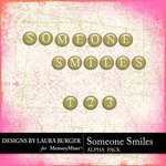 Someone Smiles Alphabet Pack-$1.40 (Laura Burger)