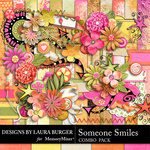 Someone Smiles Combo Pack-$8.49 (Laura Burger)