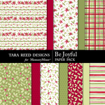 Be Joyful Paper Pack-$3.99 (Tara Reed Designs)