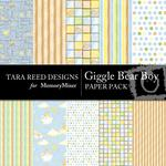 Giggle Bear Boy Paper Pack-$4.00 (Tara Reed Designs)