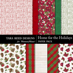 Home for the Holidays Papers-$2.80 (Tara Reed Designs)