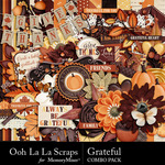 Grateful Combo Pack-$4.99 (Ooh La La Scraps)