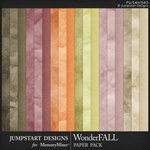 WonderFALL Textured Paper Pack-$3.99 (Jumpstart Designs)