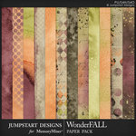 WonderFALL Blended Paper Pack-$3.99 (Jumpstart Designs)