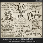 WonderFALL WordArt Pack-$3.99 (Jumpstart Designs)