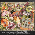 WonderFALL Embellishment Pack-$4.99 (Jumpstart Designs)