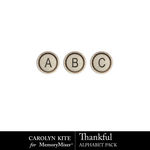 Thankful CK Alphabet Pack-$3.99 (Carolyn Kite)