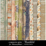 Thankful CK Paper Pack 2-$3.99 (Carolyn Kite)