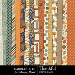 Thankful CK Paper Pack 1-$3.99 (Carolyn Kite)