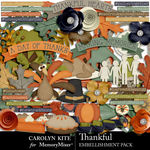 Thankful CK Embellishment Pack-$4.99 (Carolyn Kite)
