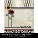 2018 Calendar Annette-$5.99 (Ettes and Company by Annette)