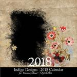 2018 Calendar ID-$5.99 (Indigo Designs)