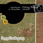 Giving Thanks QuickMix-$4.00 (Julie Klaus)
